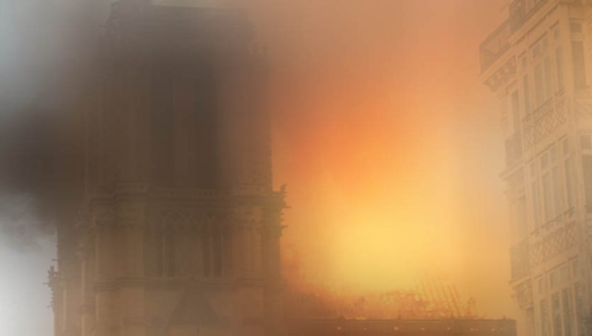 the notre dame hypocrisy and flames